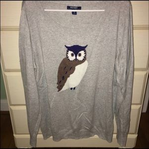 Old Navy Owl sweater Size  XL